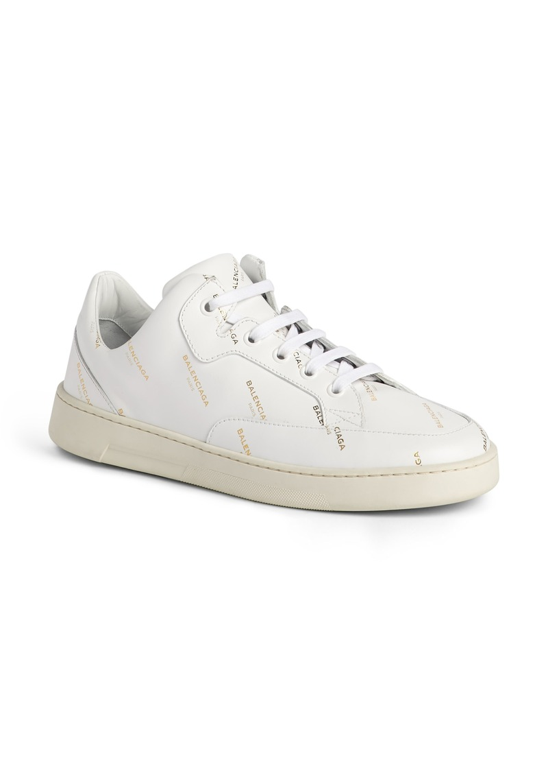 balenciaga low top white