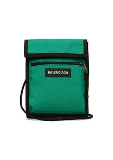 Balenciaga Logo-patch technical cross-body bag