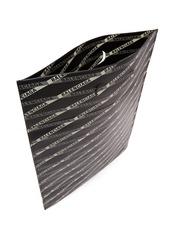 Balenciaga Monogram logo-print leather tote bag