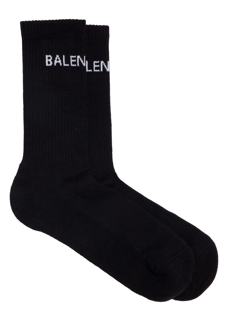 Balenciaga Logo Tube Socks