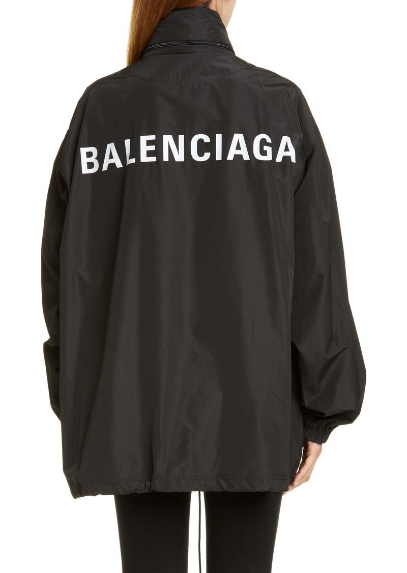 Balenciaga Logo Windbreaker