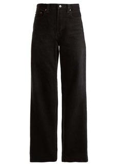 Balenciaga Low-rise wide-leg jeans
