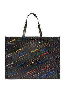 Balenciaga Market Shopper M leather tote