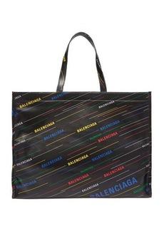 Balenciaga Market Shopper M leather tote