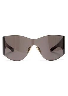 Balenciaga Mask acetate sunglasses