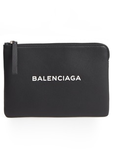 Balenciaga Medium Everyday Leather Pouch