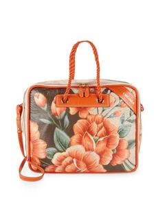 Balenciaga Medium Floral Leather Shouder Bag