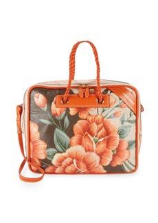 Balenciaga Medium Floral Leather Shouder Bag