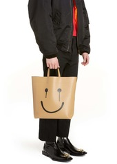 Balenciaga Medium Market Happy/Sad Leather Tote