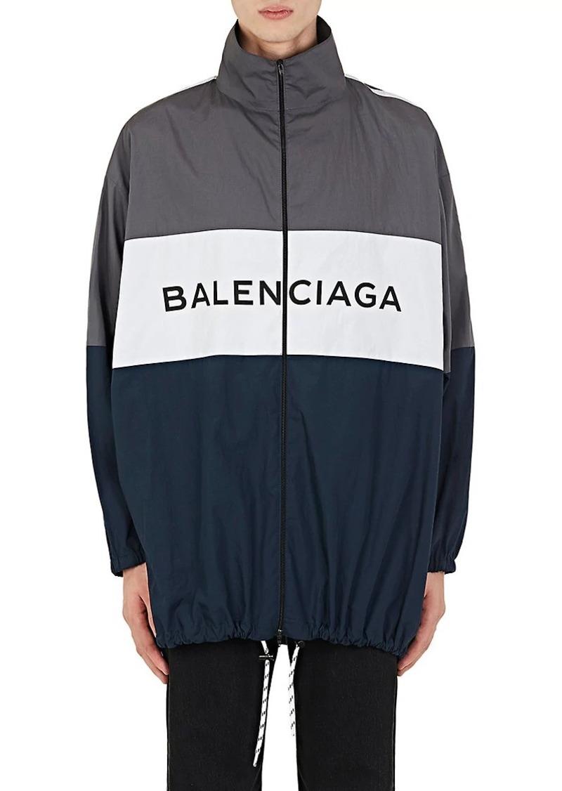 Balenciaga Balenciaga Men s Colorblocked Cotton Oversized Track ... d478c9341e3