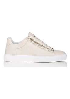 Balenciaga Men's Men's Arena Leather Sneakers
