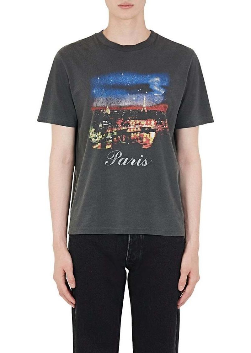 6d97e470 Balenciaga Balenciaga Men's Paris-Print Cotton T-Shirt | T Shirts