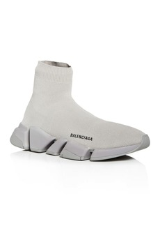 Balenciaga Men's Speed 2.0 Knit High Top Sneakers