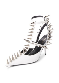 Balenciaga Metal Spike Slingback Pump (Women)