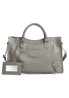 Balenciaga Metallic Edge City AJ Leather Tote