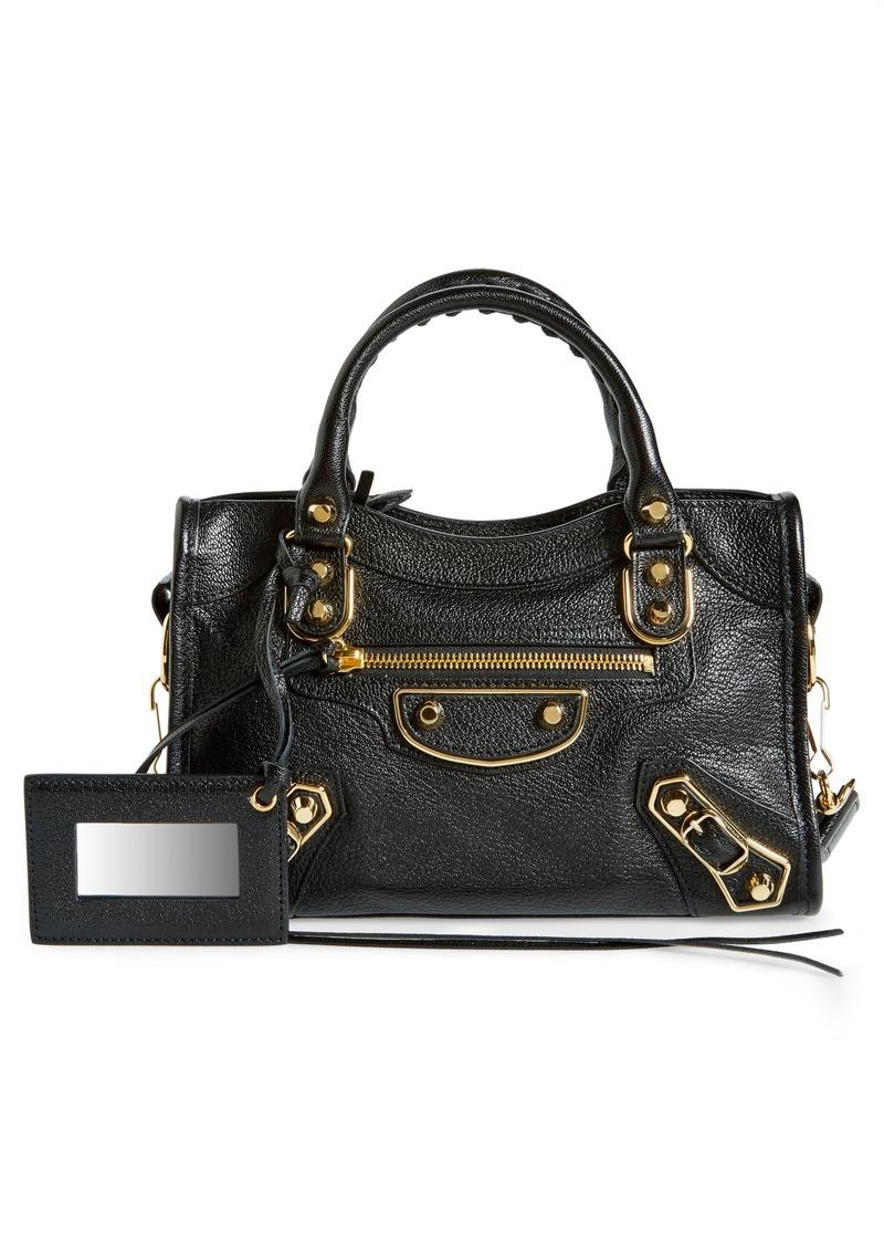 89a05d904ae8 Balenciaga Balenciaga Metallic Edge Mini City Bag