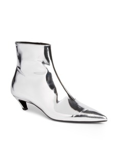 Balenciaga Metallic Pointy Toe Bootie (Women)