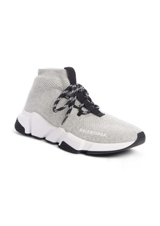 Balenciaga Mid Speed Lace-Up Sneaker (Women)