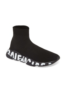 Balenciaga Mid Speed Sock Sneaker (Women)