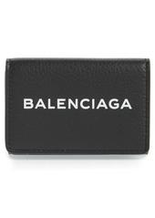 Balenciaga Mini Logo Calfskin Wallet