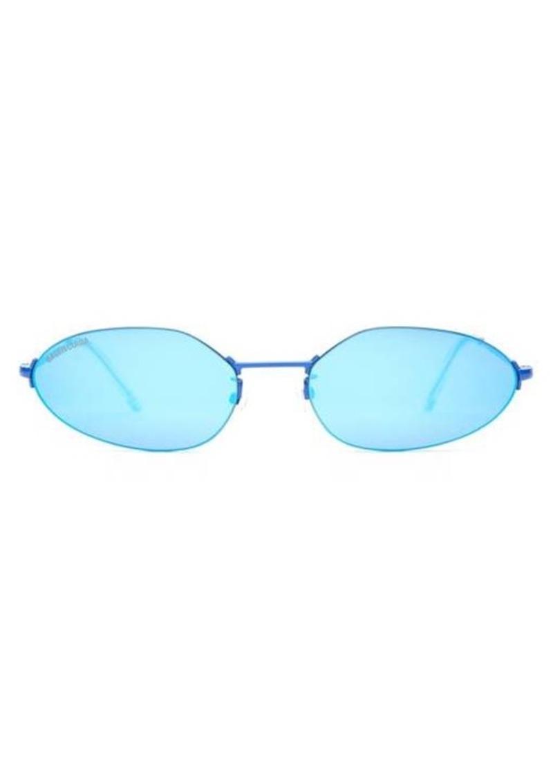 Balenciaga Mini oval metal sunglasses