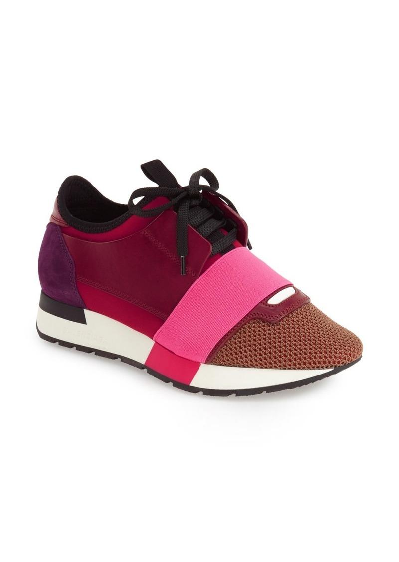 balenciaga balenciaga mixed media sneaker women shoes shop it to me. Black Bedroom Furniture Sets. Home Design Ideas