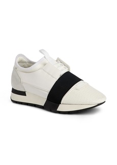 Balenciaga Mixed Media Trainer Sneaker (Women)
