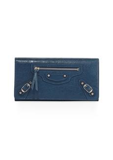 Balenciaga Money City Leather Clutch Bag