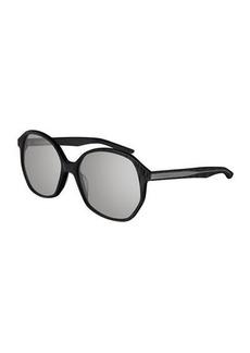 Balenciaga Monochromatic Butterfly Sunglasses