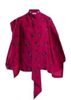 Balenciaga Multi Snaps blouse