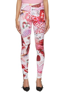 Balenciaga Multicolor 'Be My Valentine' Leggings