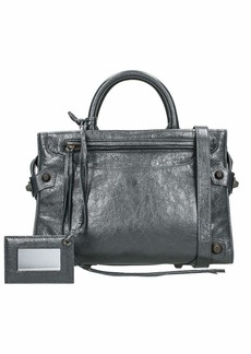 Balenciaga Muse City S Aj Grey Leather Bag