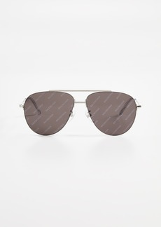 Balenciaga Naked Pilot Sunglasses