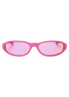 Balenciaga Neo oval-frame acetate sunglasses
