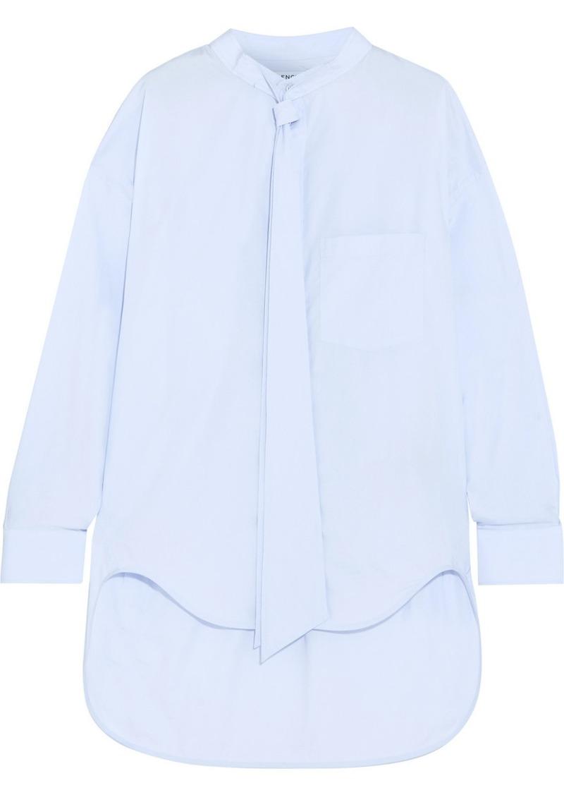 27d04810dd3e Balenciaga Balenciaga New Swing printed cotton-poplin shirt   Casual ...