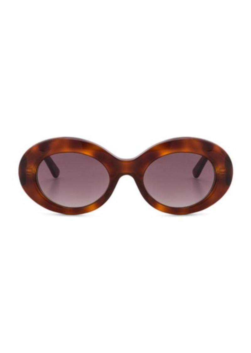 3edbe0c10e Balenciaga Balenciaga Oval Sunglasses