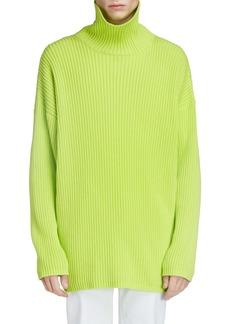Balenciaga Oversize Turtleneck Sweater