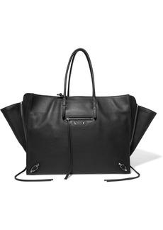 Balenciaga Papier Za A4 Textured-leather Tote