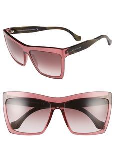 Balenciaga 60mm Oversize Sunglasses