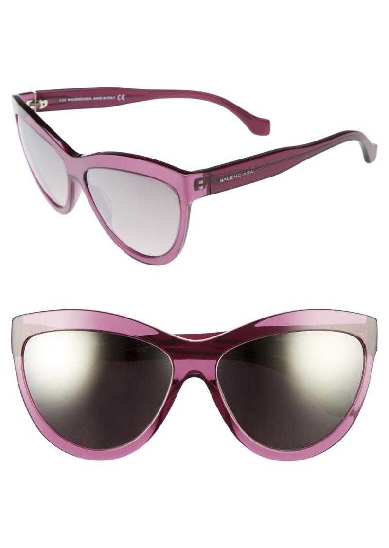 Balenciaga 60mm Sunglasses