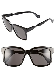 Balenciaga Paris 'BA0053' 55mm Cat Eye Sunglasses