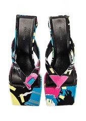 Balenciaga Paris Double Square Sandals