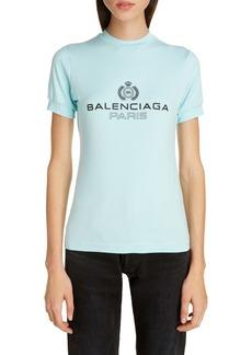 Balenciaga Paris Logo Tee