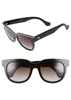 Balenciaga Paris Rectangular 52mm Sunglasses