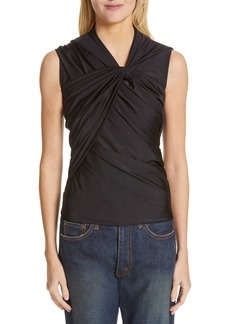 Balenciaga Pleated Tank Top