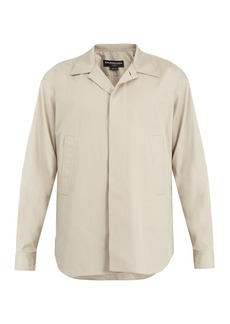 Balenciaga Point-collar cotton shirt