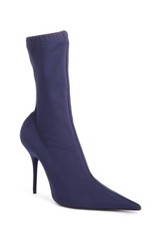 Balenciaga Pointy Toe Mid Boot (Women)