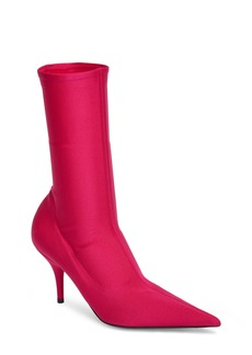 Balenciaga Pointy Toe Mid Bootie (Women)