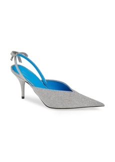 Balenciaga Pointy Toe Slingback Pump (Women)