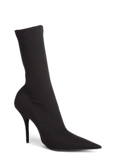 Balenciaga Pointy Toe Sock Bootie (Women)